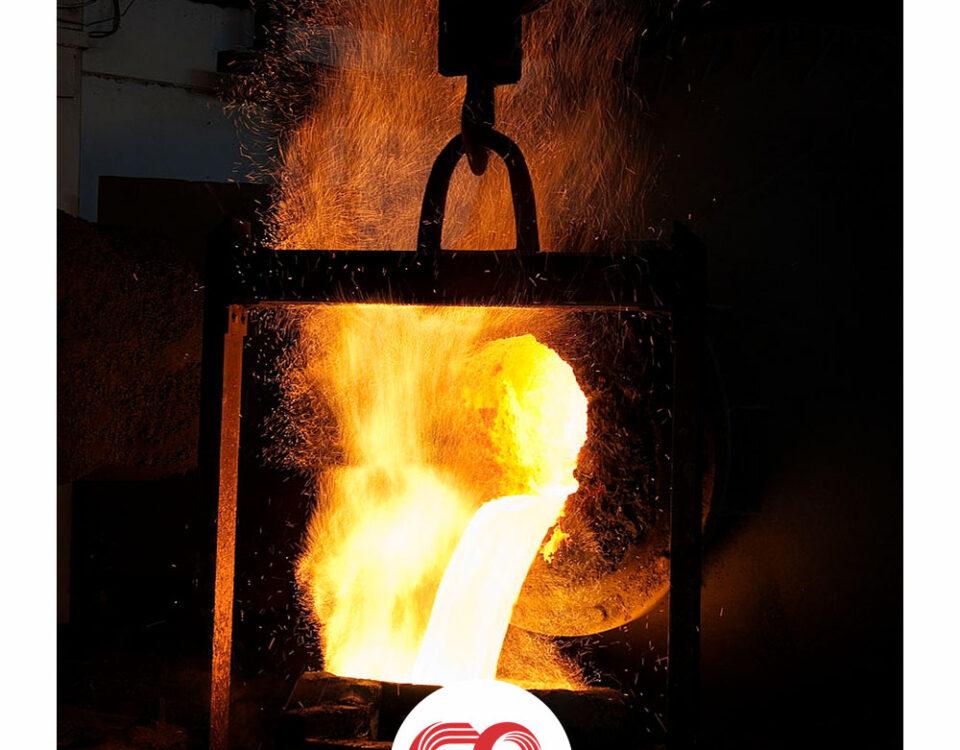 نقطه ذوب فولاد