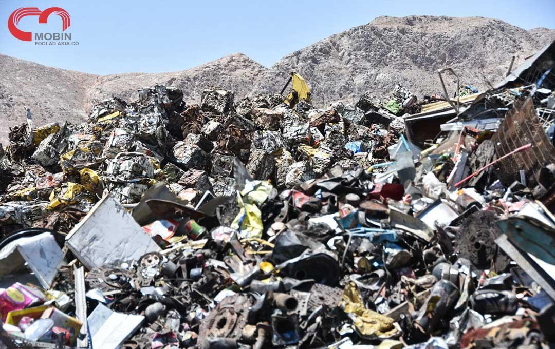 بازیافت زبالههای فلزی