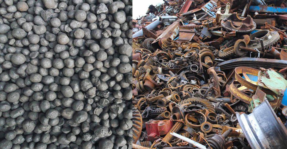 ضایعات آهن یا آهن اسفنجی؟ قراضه آهن