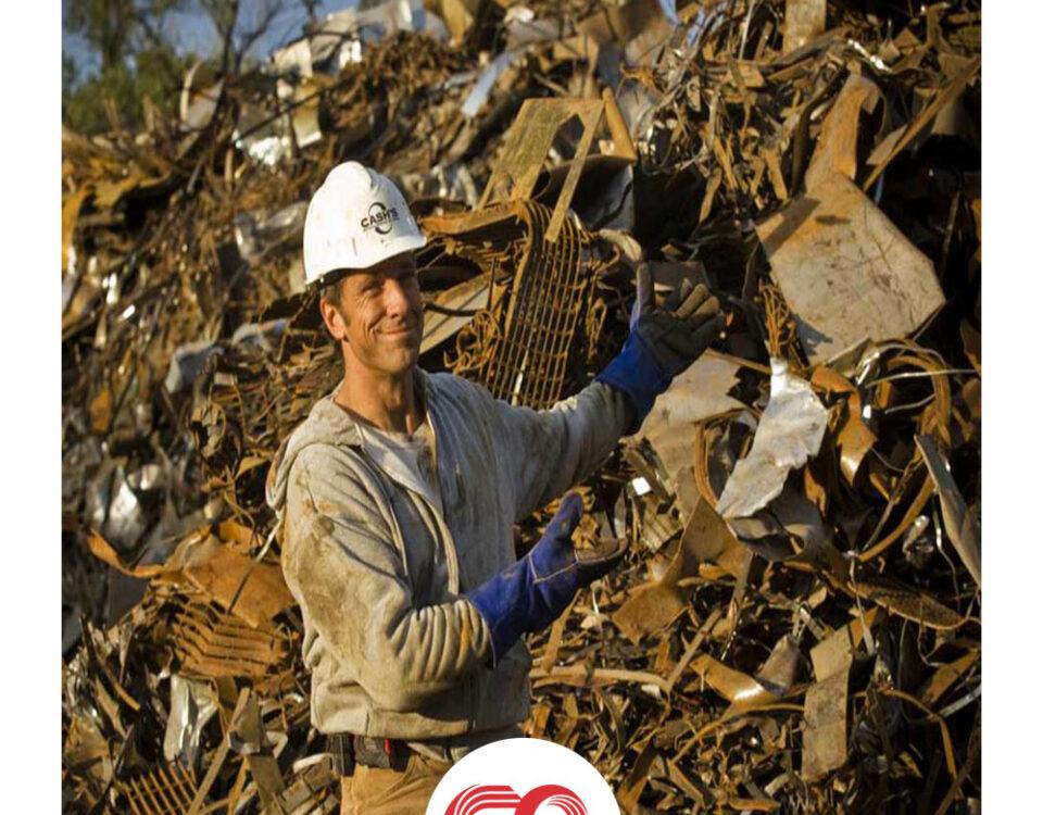 قراضه آهن چیست و تاثیر ضایعات آهن در بازیافت