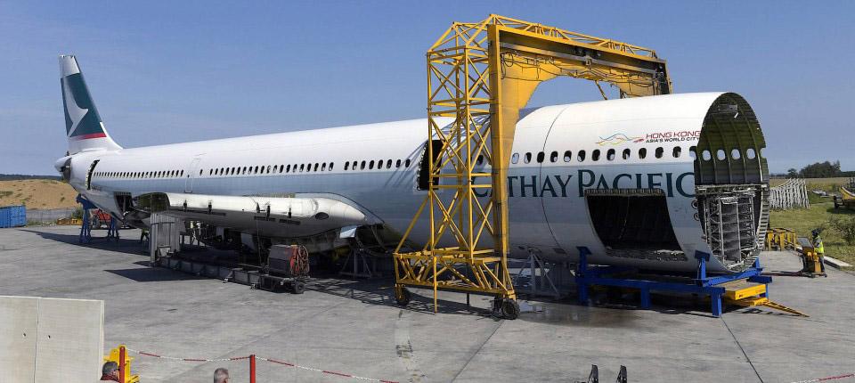 بازیافت هواپیما چگونه انجام می شود؟