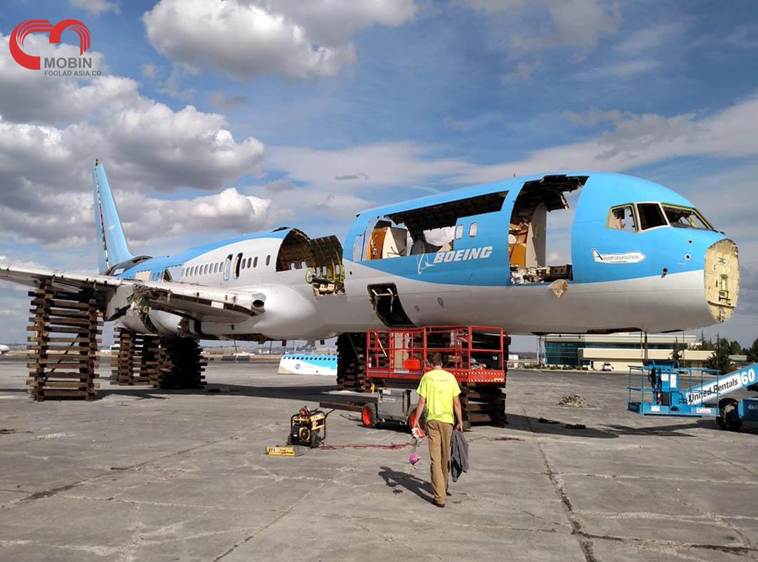 فرایند بازیافت هواپیما