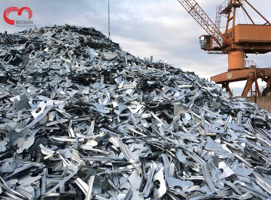 بازیافت فلزات - قطعات و ضایعات فولادی