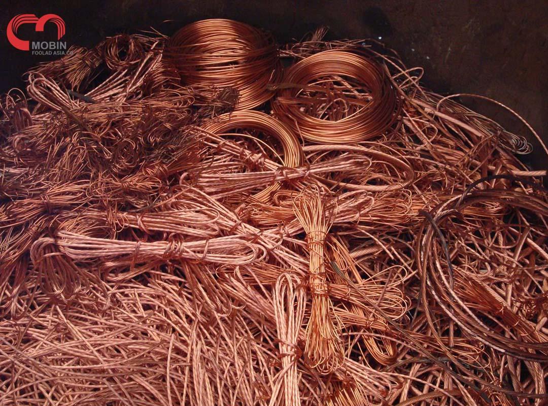 بازیافت فلزات - ضایعات مس
