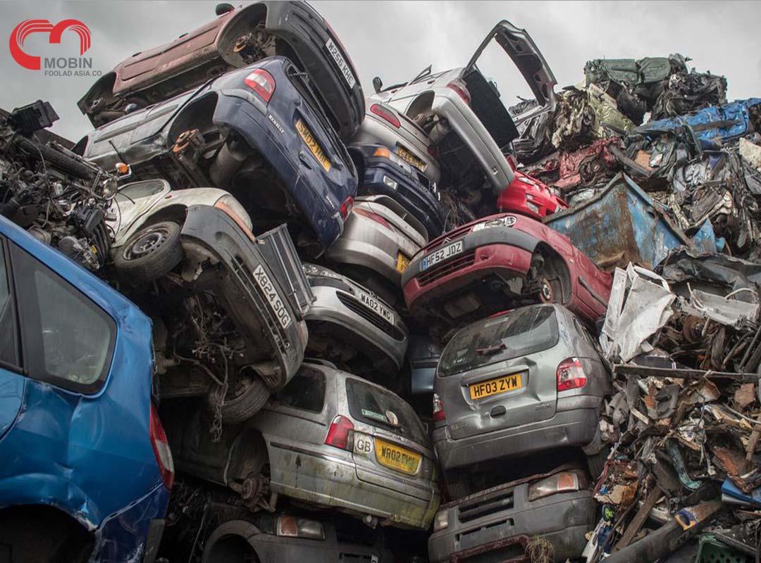 کسب درآمد از بازیافت فلزات قراضه