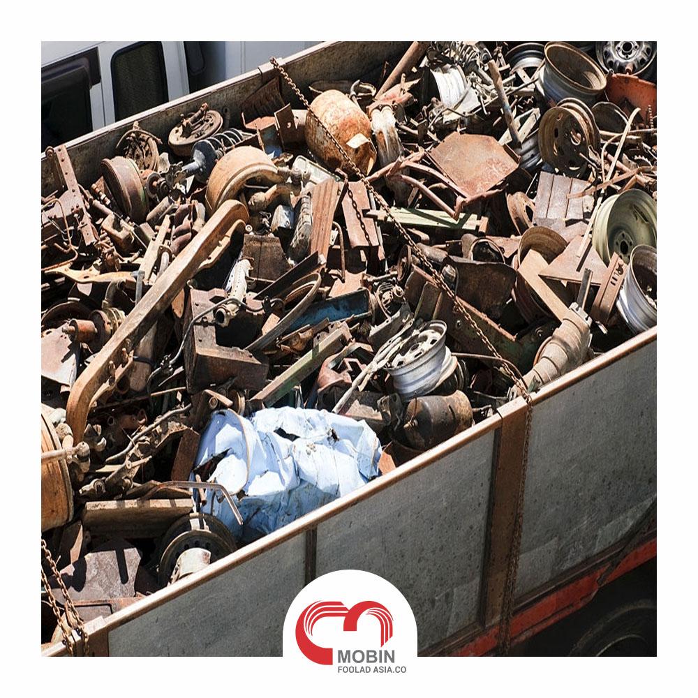 مراحل بازیافت ضایعات آهن