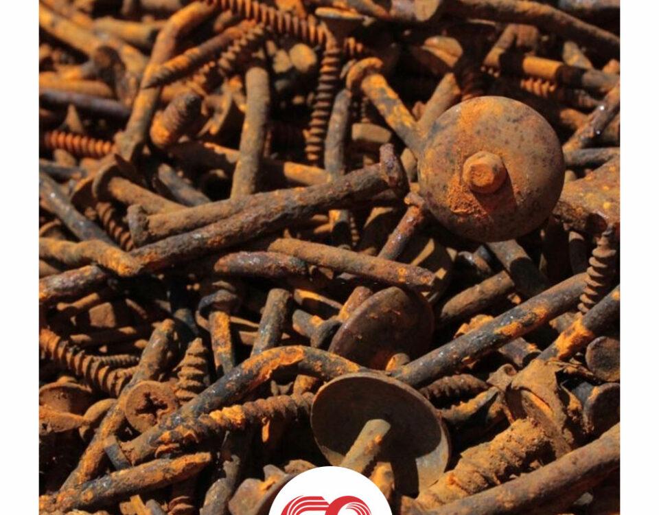 بازیافت فولاد زنگ زده